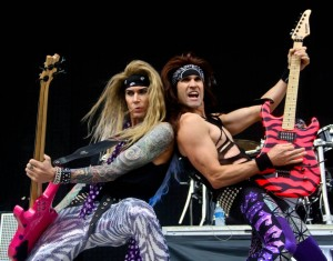 Steel Panther will release a new album on April 1. Photo/Damien Dennis (2013)