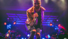 Tyler Glenn leads Neon Trees during their headlining set at the Newport Music Hall in Columbus. Lily Aey/The Pit