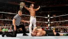 Seth Rollins stands victorious over John Cena / Photo: wwe.com