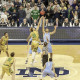 Notre Dame slayed another giant Saturday at Purcell Pavilion, this time in the form of No. 2/1 North Carolina. Evan J. Thomas/The Pit