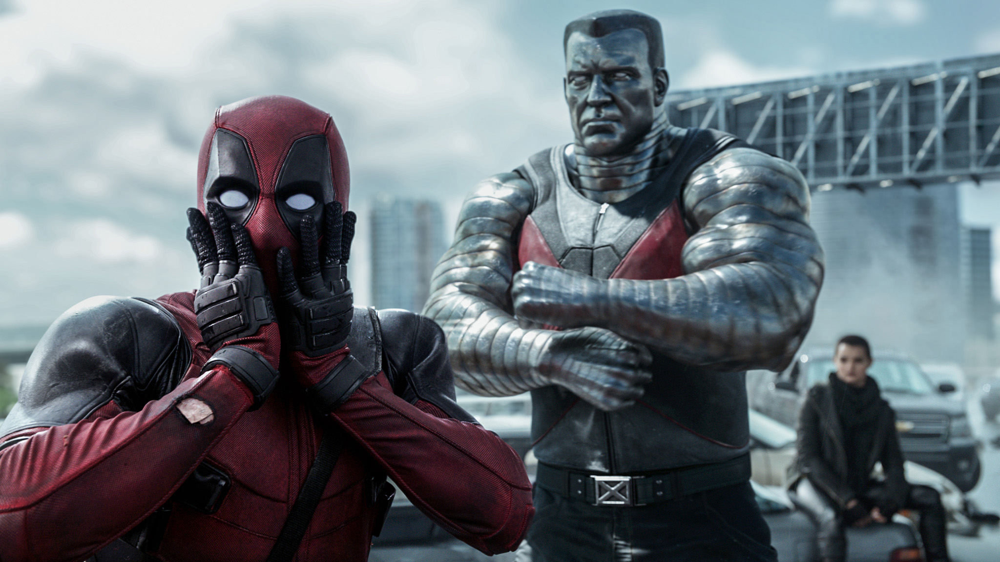 X gonna give it to you! Deadpool teams with Colossus and a teenage mutant to battle evil. Time to make the chimichangas! Photo/Collider