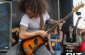 Bassist Jake Figueroa of Crobot performs at Rock On The Range 2015. Jake joins The Pit's ROTR countdown show to talk playing with Crobot in 2014 and 2015 at ROTR, meeting Axel Rose and the questionable concert garb of many Rangers. Nate Korczyk/The Pit